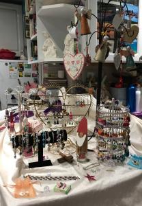 Maria's craft stall